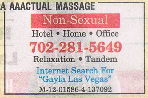 extra massage service North Las Vegas, Nevada