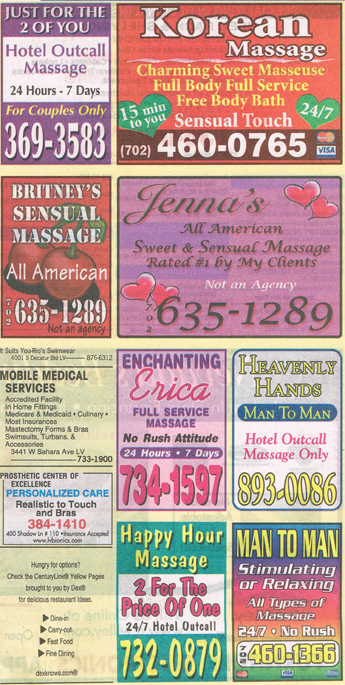 las vegas non sexual massage